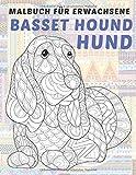 Basset Hound Hund - Malbuch für Erwachsene